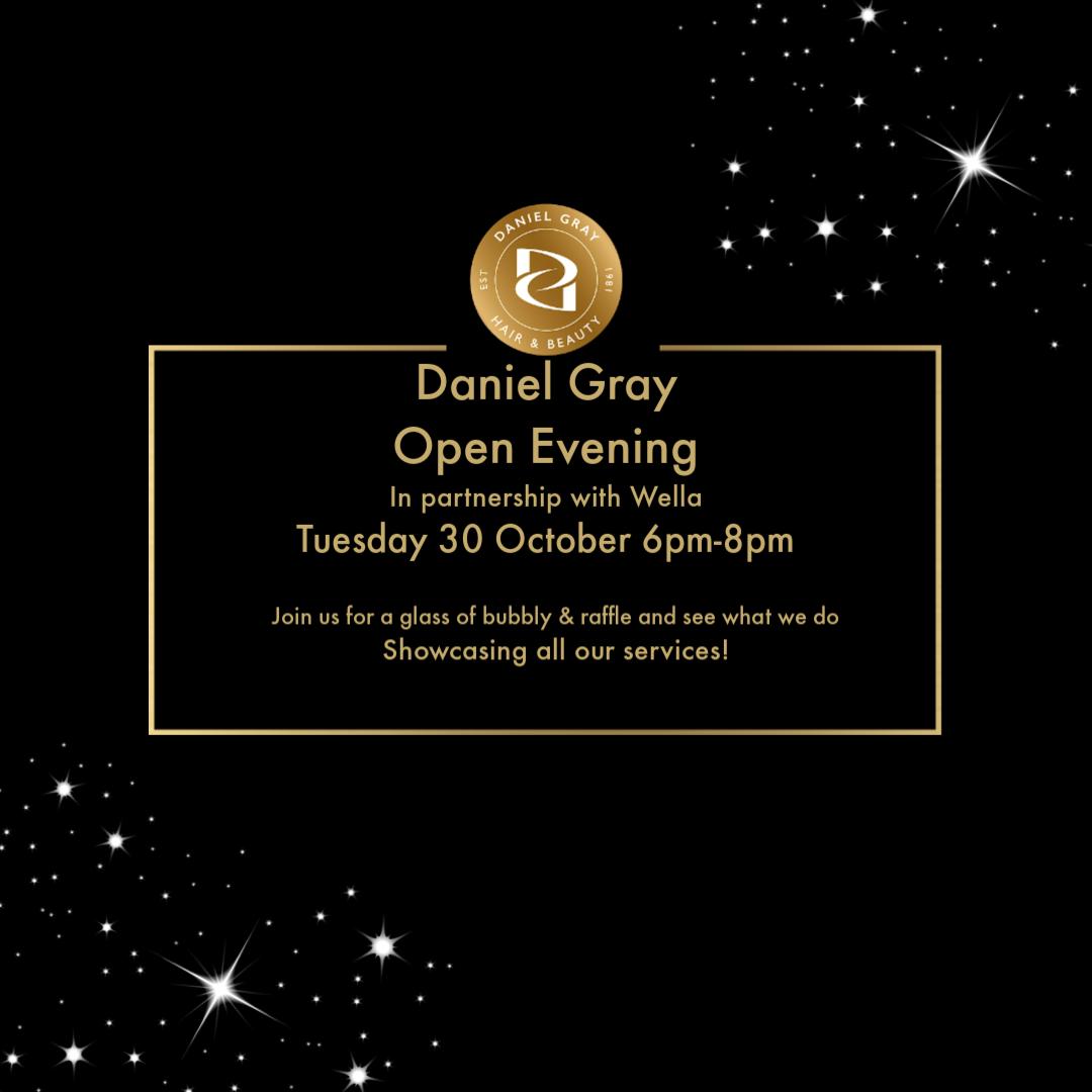 Open Evening 30 October